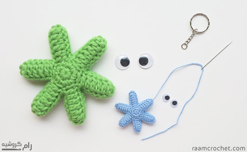 Glue or sew the eyes and any other accessory you want